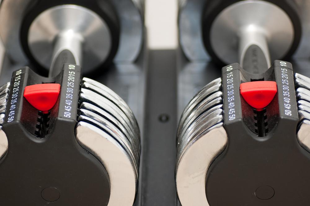 The Best Adjustable Dumbbells: the Bowflex SelectTech 552 Dumbbells