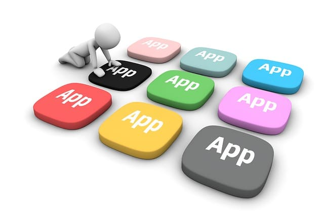 graphic illustration of apps