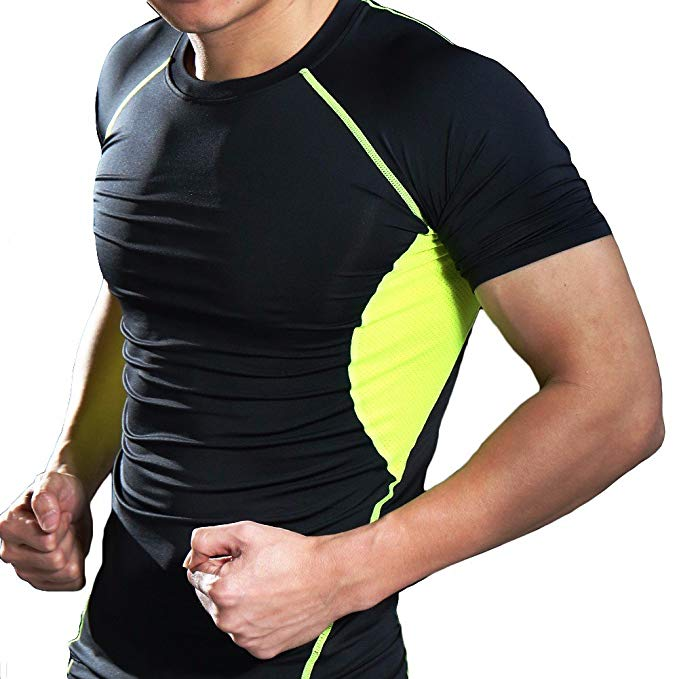 Fittoo Tank Tops for Men Cool Dry Compression Shirt Baselayer Athletic Vest Sport Tank Top