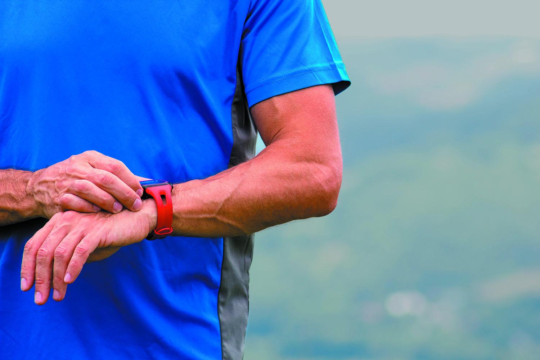 adjusting a wristwatch