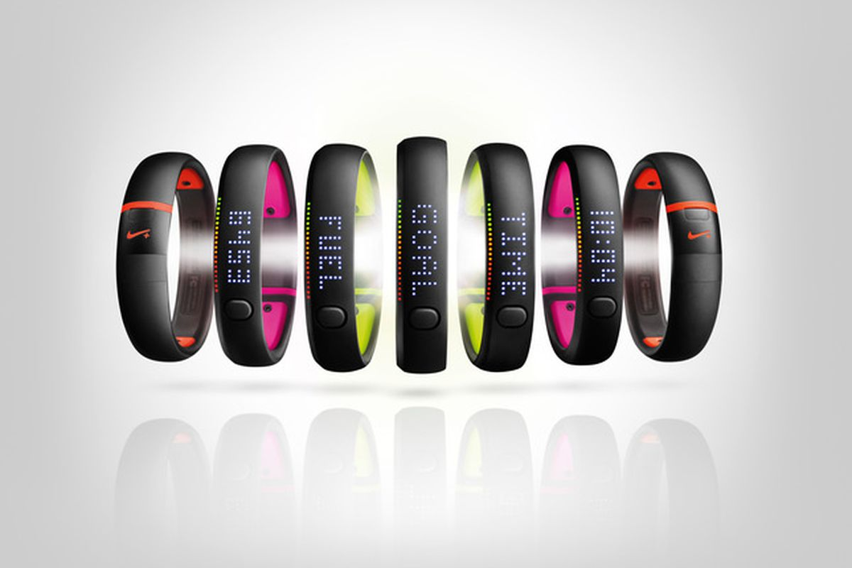 colorful Nikeplus fuel band