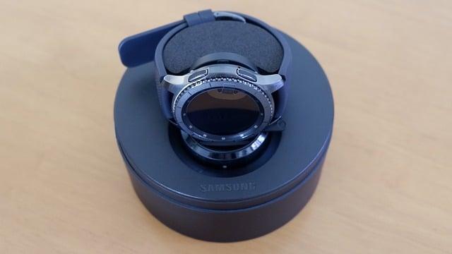 a samsung gear watch